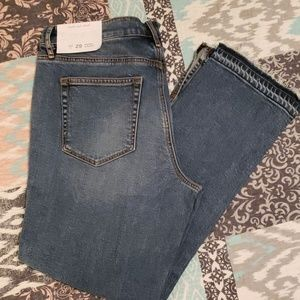 New with tags LOFT Women's Rough Hem Jeans Size 8